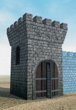 Zvezda 8509 STONE TOWER WITH GATES