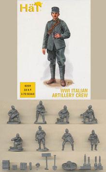 HÄT 8259 WWI ITALIAN ARTILLERY CREW