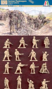 ITALERI 6134 WWII GERMAN PARATROOPES