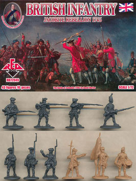 REDBOX 72049 JACOBITE REBELLIONS BRITISH INFANTRY