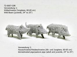 Stenfalk 72-0007-C0R Wildschweine - Hausschweine - Weideschweine (Jungtiere)