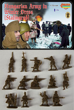 STRELETS M083 WWII HUNGARIAN ARMY IN WINTER DRESS (STALINGRAD)