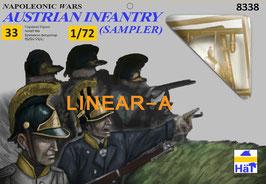 HÄT 8338 NAPOLEONIC Austrian Infantry Sampler