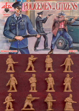 REDBOX 72037 Policemen and Citizens