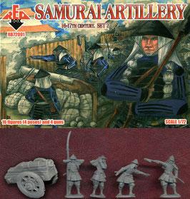 REDBOX 72091 Samurai Artillery 16-17th Century Set 2