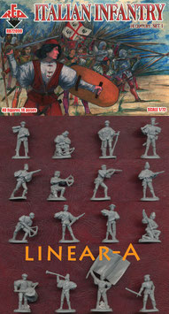 REDBOX 72099 Italian Infantry  16th Cent. Set 1