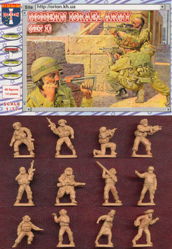 ORION 72012 MODERN ISRAEL ARMY SET 1