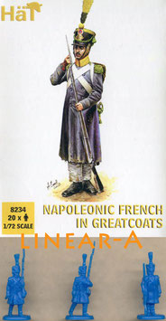 HÄT 8234 FRENCH GREATCOATS