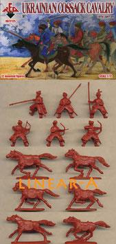 REDBOX 72125 Ukrainian Cossack Cavalry 16 Century Set 1