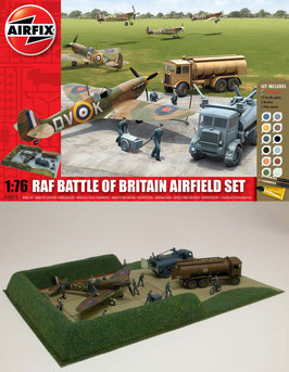 AIRFIX A50015 RAF Battle of Britain Airfield Gift Set 1:76