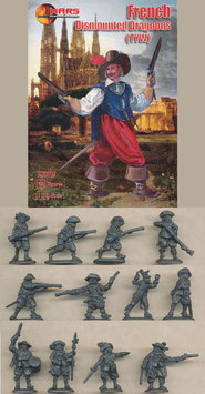 MARS  72078 FRENCH DISMOUNTED DRAGOONS TYW
