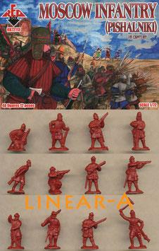 REDBOX 72113 Moscow Infantry (pishalniki) 16. Cent.