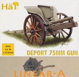 HÄT 8242 WWI DEPOT 75mm GUN