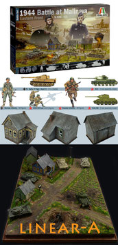 Italeri 6182 WWII BATTLE OF MALINAVA