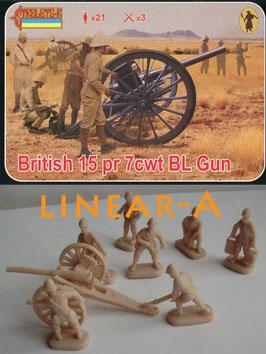 STRELETS 177 British 15pr 7cwt BL Gun