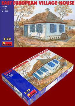 MINIART 72016  EAST EUROPEAN VILLAGE HOUSE 1:72