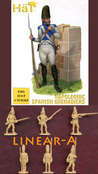HÄT 8301 NAPOLEONIC SPANISH GRENADIERS