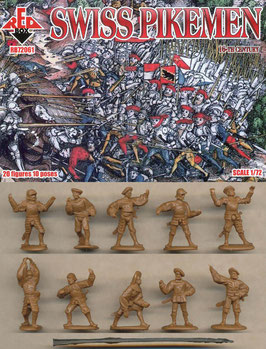 REDBOX 72061 SWISS INFANTRY - PIKEMEN (16th Century)