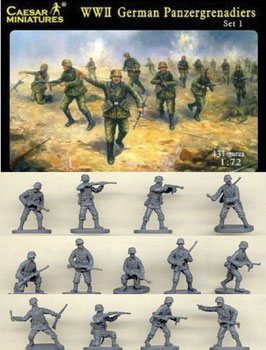 CAESAR H052 WWII GERMAN PANZERGRENADIER SET 1