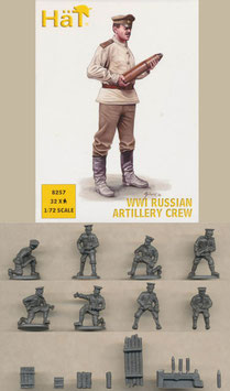 HÄT 8257 WWI RUSSIAN ARTILLERY CREW