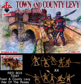 REDBOX 72041 TOWN AND COUNTY LEVY - War of the Roses Set 2