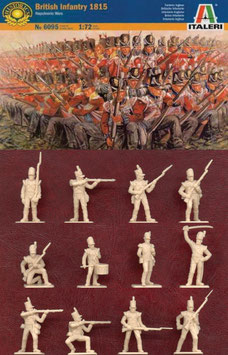 ITALERI 6095 BRITISH INFANTRY 1815