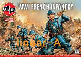 AIRFIX A00728V WWI FRENCH INFANTRY 'Vintage Classic series'