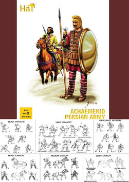 HÄT 8117 ACHAEMENID PERSIAN ARMY VS. ALEXANDER THE GREAT