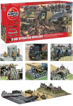 AIRFIX A50162 D-Day Operation Overlord Gift Set 1:72