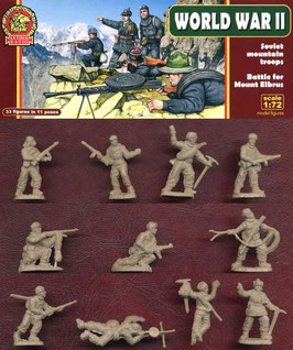 ULTIMA RATIO UR004 WWII Soviet Mountain Troops