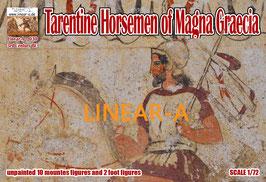 LINEAR-A 030 Tarentine Horsemen of Magna Graecia 3rd Century BC
