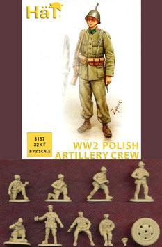 HÄT 8157 WWII Polish Artillery Crew