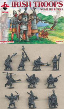 REDBOX 72044 IRISH TROOPS - War of the Roses Set 5
