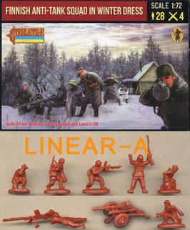 Strelets 246 Finnish Anti-Tank Squad in Winter Dress