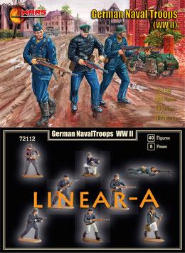 MARS 72112 World War II German Naval Troops