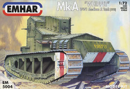 Emhar 5004 Medium 'A' Whippet Tank (1918) WWI