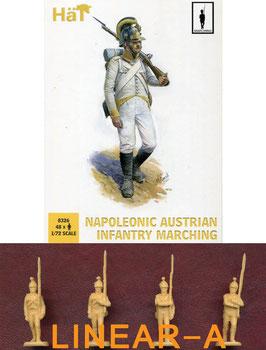 HÄT 8326 NAPOLEONIC Austrian Infantry Marching