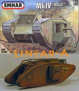 Emhar 5001 Mark.IV 'Male' Tank WWI