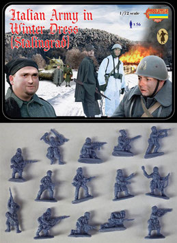STRELETS M082 WWII ITALIAN ARMY IN WINTER DRESS (STALINGRAD)