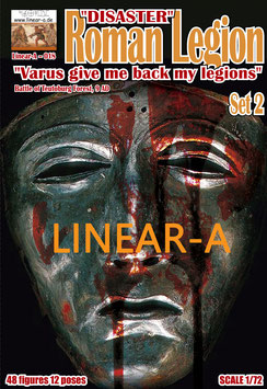 """LINEAR-A 018 Roman Legion Set 2 """"DISASTER""""  """"Varus give me back my legions I A.D."""""""