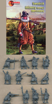 MARS 72094 SWEDISH INFANTRY (EARLY) 17 th Century