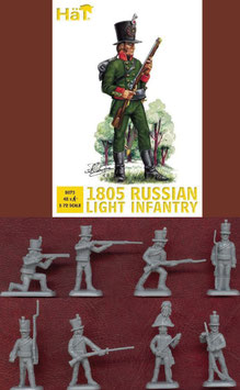 HÄT 8073 NAPOLEONIC 1805 Russian Light Infantry