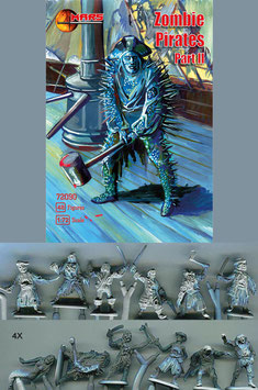 MARS  72090 ZOMBIE PIRATES SET 2