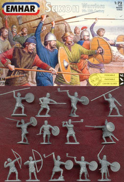 EMHAR 7206 SAXON WARRIORS 9th-10th CENTURY