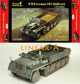 CAESAR CM7210 WWII GERMANS sWS HALFTRACK