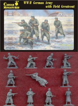 CAESAR H069 WWII GERMAN ARMY MANTEL