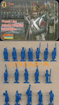 STRELETS 184 French Line Infantry Standing at Attention