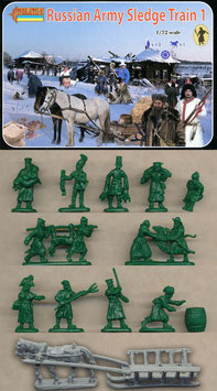 STRELETS 135 RUSSIAN ARMY SLEDGE TRAIN SET 1