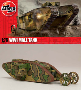 AIRFIX A01315 WWI Male Tank 1:76