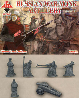 REDBOX 72087 RUSSIAN WAR MONK ARTILLERY 16-17th Century